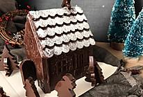 巧克力圣诞屋的做法
