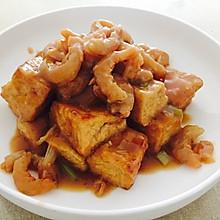 虾干烧豆腐