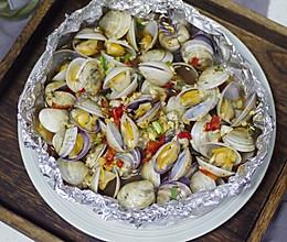 锡纸烤蛤蜊的做法