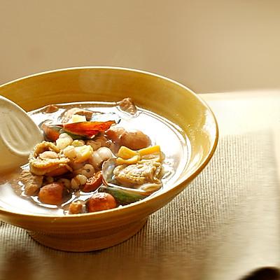干贝鲍鱼莲子汤