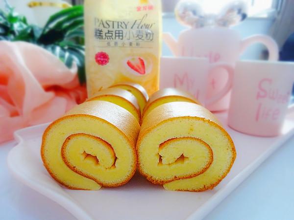 绝对不开裂,完美漂亮日式棉花蛋糕卷