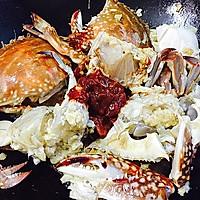 香辣酱炒螃蟹(超详细步骤)的做法图解12