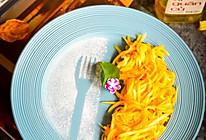 #美食视频挑战赛#爽口木瓜丝的做法