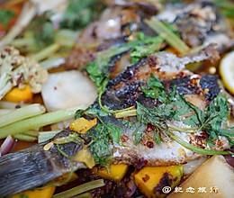 夏日小清新烤鱼--柠檬烤鱼的做法