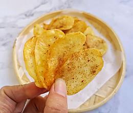 烤箱版薯片,非油炸更健康的做法