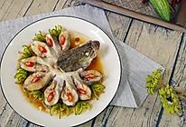 小羽私厨之孔雀开屏鱼的做法