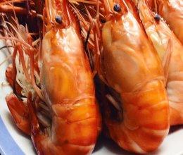 白灼大头虾的做法