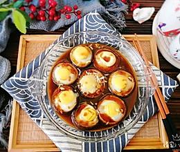 香菇蒸鹌鹑蛋#一道菜表白豆果美食#的做法