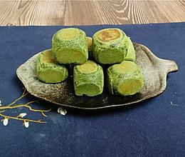 第三个抹茶味食谱,抹茶麻薯仙豆糕教程,自己制作来这么简单。的做法