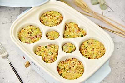 蔬菜鱼丸小饼