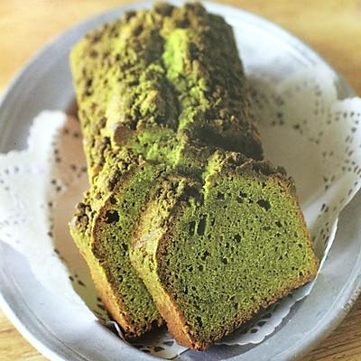绝品抹茶奶酥磅蛋糕