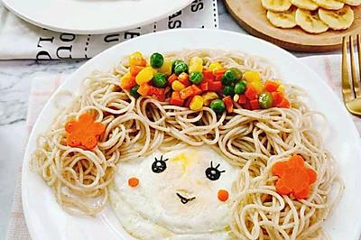 宝宝童趣餐:【鱼酱拌面】12+