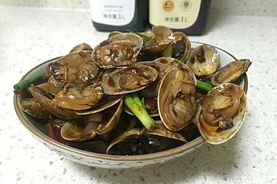 鹃城郫县豆瓣之辣炒花蛤