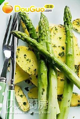 香烤芦笋土豆的做法