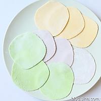 彩色饺子的做法图解4