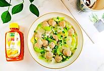 竹荪丝瓜牛肉丸汤~太太乐鲜鸡汁蒸鸡原汤的做法