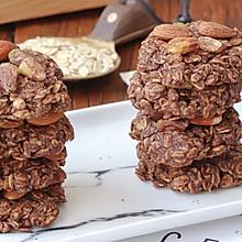 花生燕麦坚果饼干
