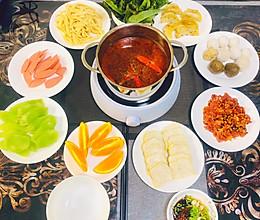 一个人的涮火锅-秘制火锅汤底/麻辣牛肉腌制/蘸料的做法