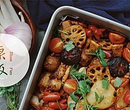 辣烤时蔬#松下烤箱烘焙盛宴#的做法