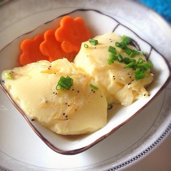 虾皮蒸蛋羹——补蛋白补钙营养早餐,宝宝食谱。