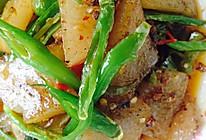 尖椒炒苕粉皮的做法