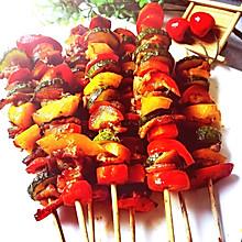 解馋美食❗️韩式烤肉串