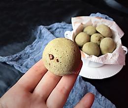 抹茶蜜豆恐龙蛋的做法