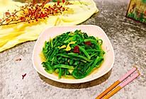 #硬核菜谱制作人#清炒油麦菜的做法