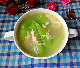 丝瓜虾皮蛋汤的做法