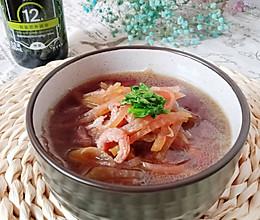 #福气年夜菜#解腻顺气海米萝卜汤的做法