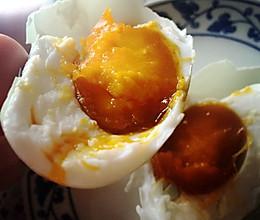 腌鸭蛋红油版的做法