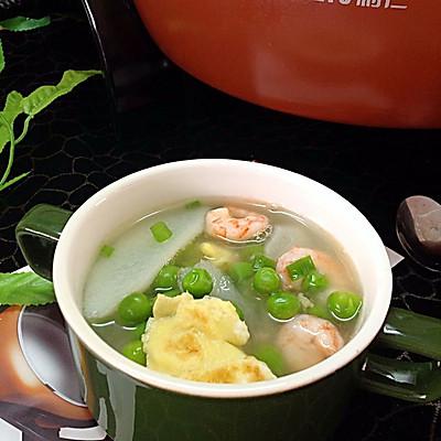 山药虾仁汤——利仁电火锅试用菜谱之一