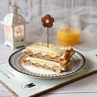蟹柳鸡蛋芝士三明治的做法图解10