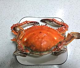 #中秋宴,名厨味#清蒸梭子蟹的做法