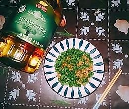 #新春美味菜肴#青豆肉末的做法