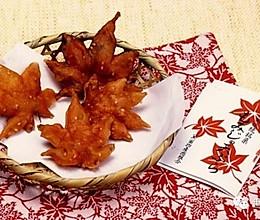 炸枫叶(红叶天妇罗)的做法