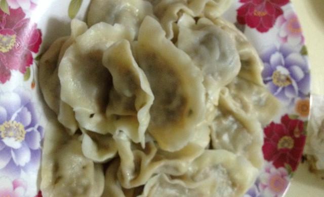 猪肉白菜木耳虾泥饺子