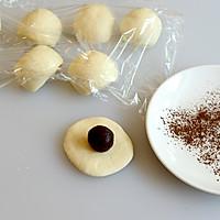 星空蘑菇豆沙包  #不思烤就很好#  老板S205蒸箱试用的做法图解3