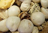 花卷豆包黑窝头黄馒头的做法