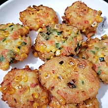 #餐桌上的春日限定#土豆玉米饼