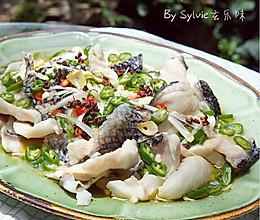鲜椒乌鱼片--鱼片嫩滑的秘诀的做法