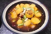 五花肉烧土豆的做法