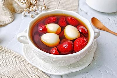 糖水红枣鹌鹑蛋