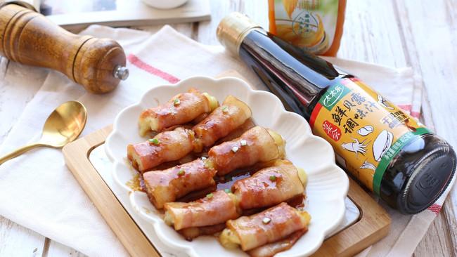 #春日时令,美味尝鲜#鲜贝露春日尝鲜~培根土豆卷的做法