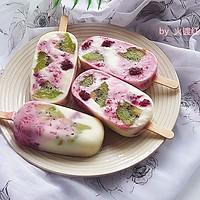 维果C酸奶冰棍的做法图解2