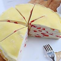 草莓,芒果千层蛋糕的做法图解20