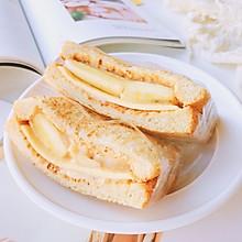 花生酸奶蕉泥三明治