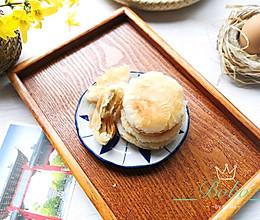 桂花糖酥饼(植物油版)#带着零食去旅行!#