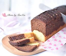 """可可香草磅蛋糕(""""肥蛋糕""""一条)的做法"""