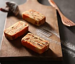 柿饼豌豆糕《24节气-霜降》#蒸箱S228#的做法